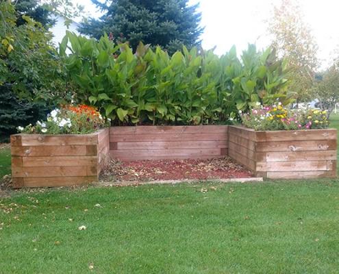 Elegant landscaping at local Progressive Living Solutions group home.